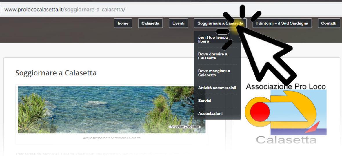 visita la sezione soggiornare a Calasetta - Pro Loco Calasetta